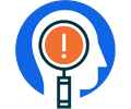 Icon for proactive risk identification